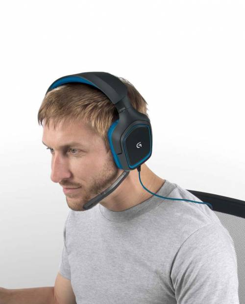 Buy Logitech G430 headphones with mic Online in India at