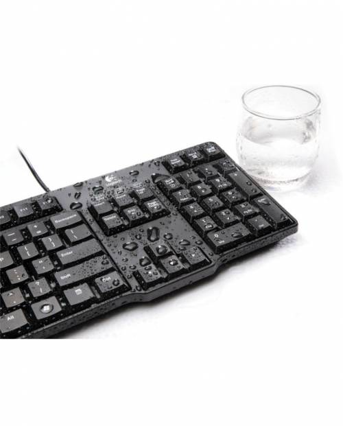 Buy Logitech K100 Classic PS/2 Wired Keyboard (Black) at