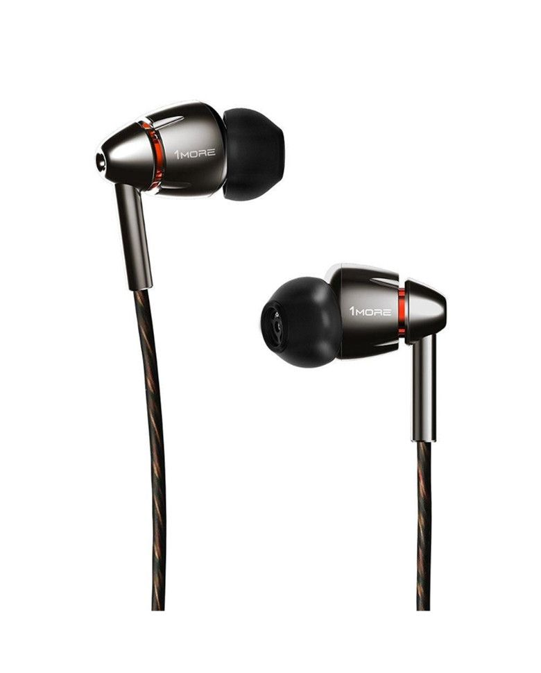 1More Quad Driver In-Ear Earphone with Mic and Hi-Res Audio zoom image