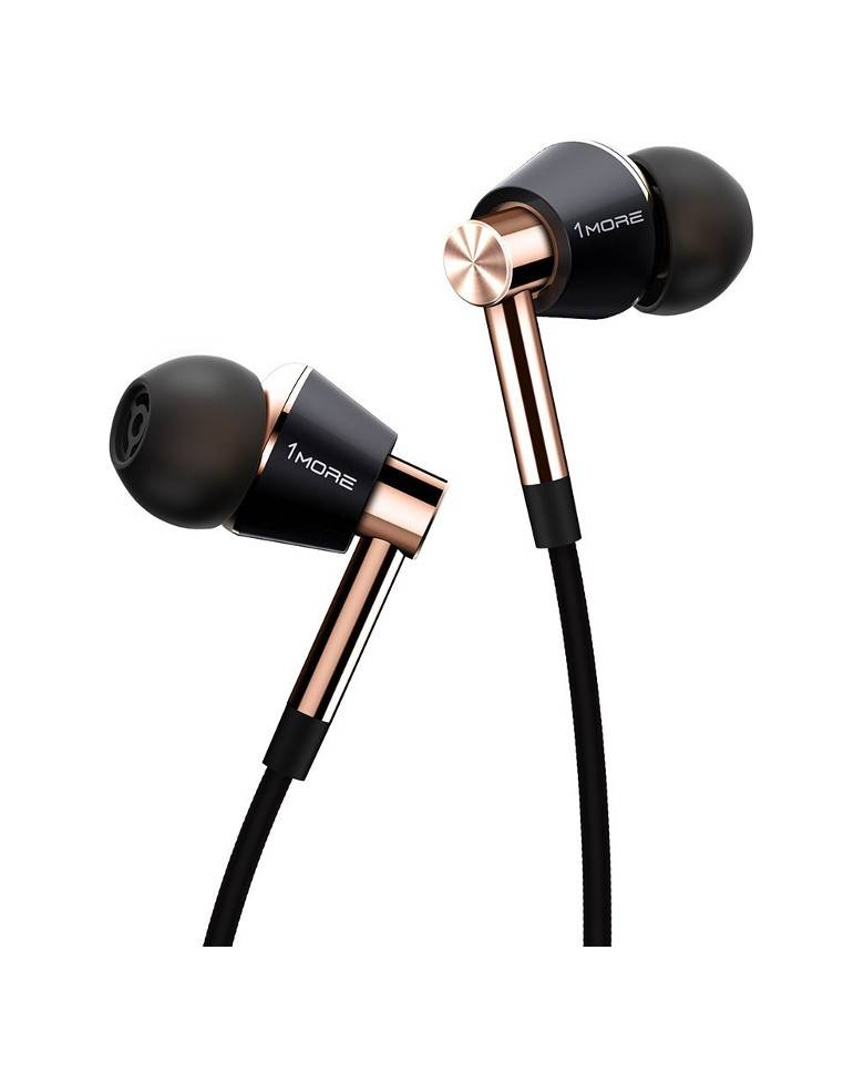 1More Triple Driver In-Ear Headphone Premium With Mic (Audio Jack) zoom image
