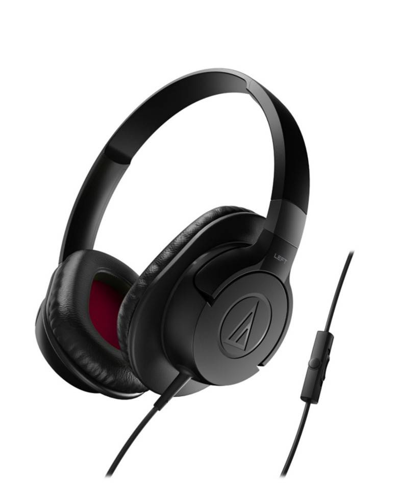 Audio Technica ATH-AX1iS SonicFuel Over-Ear Headphone zoom image