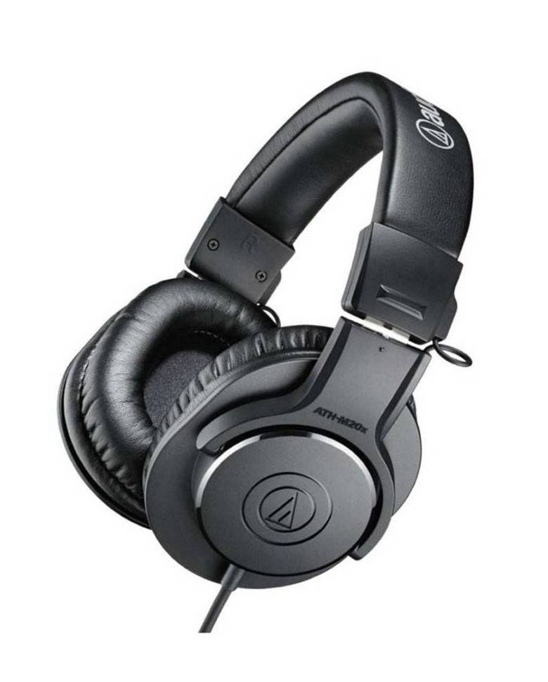 Audio-Technica ATH-M20x Over-Ear Professional Studio Monitor Headphone (Black) zoom image