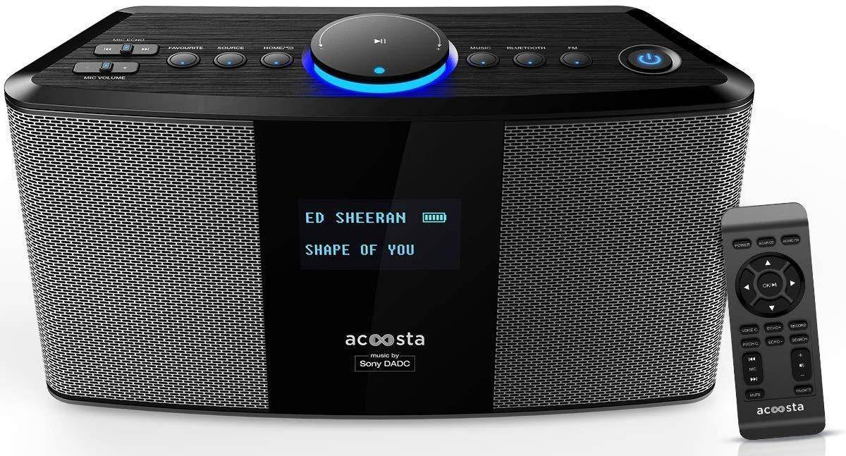 Acoosta Uno ABT-2000PKW/21 Bluetooth Speaker with Built-in Music zoom image