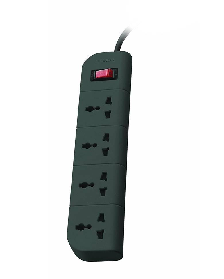 Belkin Essential 4-Socket Surge Protector zoom image