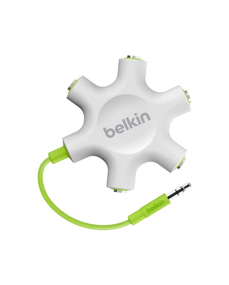 Belkin Rockstar 5-Way 3.5-mm Headphone Splitter zoom image