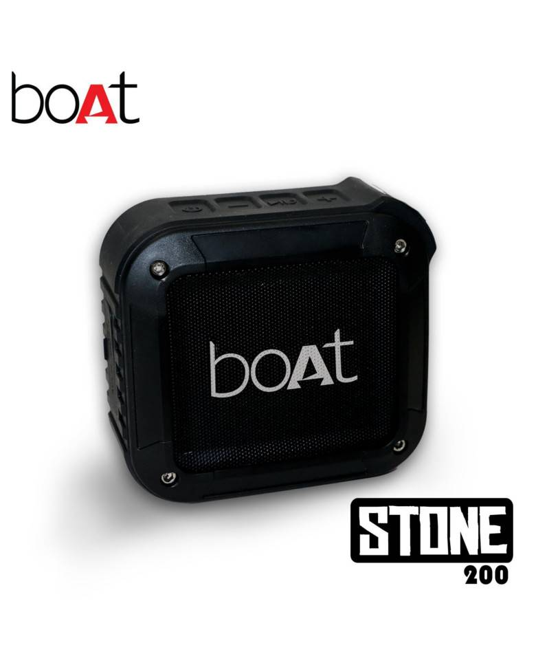 Boat Stone 200 Portable Bluetooth Speakers  zoom image