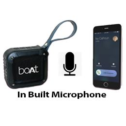 Hands free calls with the help of in built mic