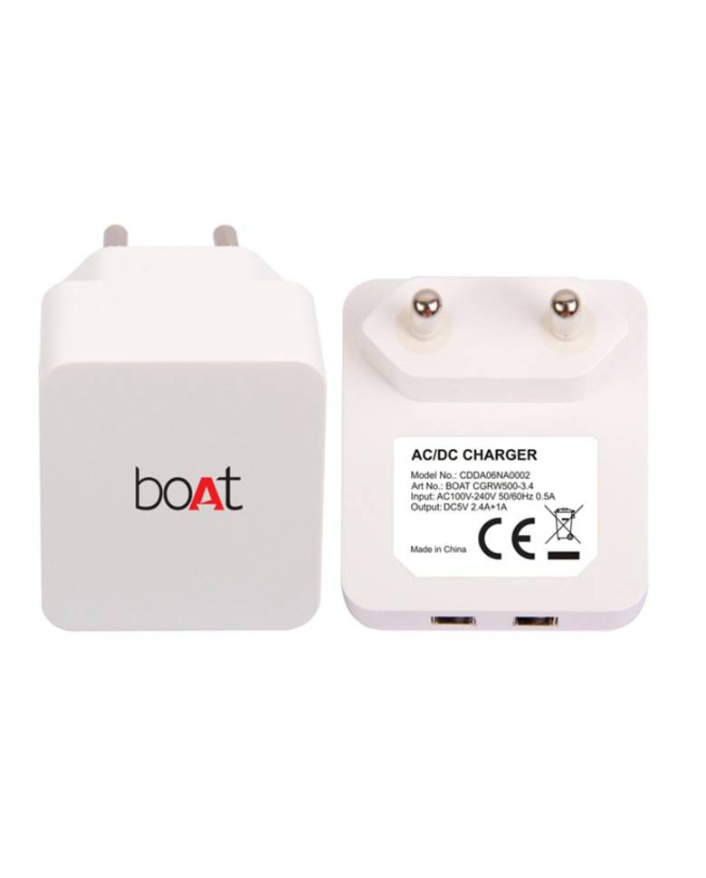 Boat CGRW500-3.4 Dual USB Wall Charger zoom image