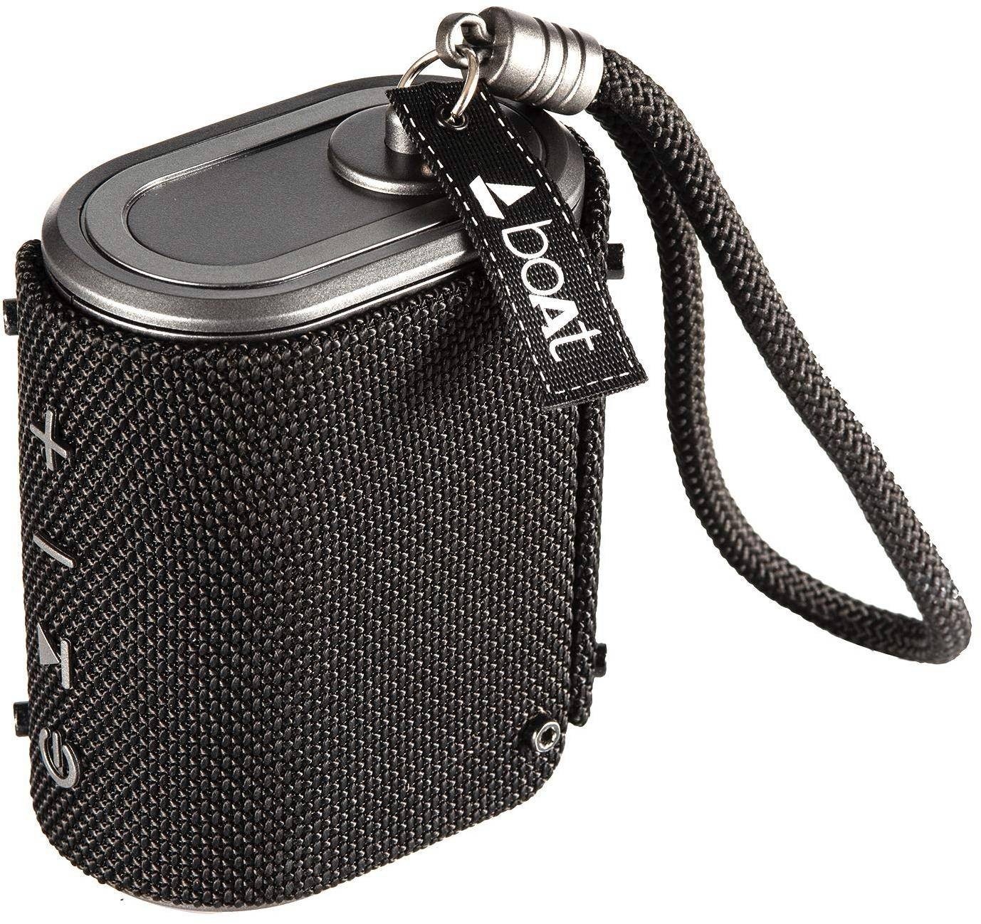 boAt Stone Grenade XL Portable Bluetooth Speakers (Charcoal Black) zoom image