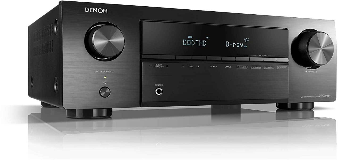 Denon AVR-X250BT 5.1 Channel Home Theater Receiver zoom image