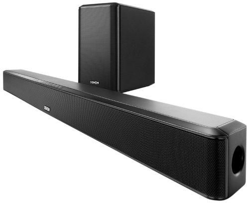 Denon DHT S514 Home Theater Soundbar System with Wireless Subwoofer zoom image