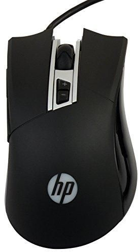 HP M220 Wired USB Optical Gaming Mouse (Black) zoom image