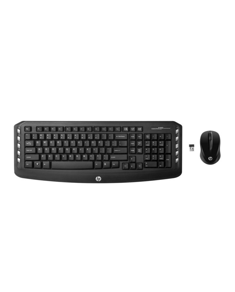 HP Multimedia Classic Wireless Keyboard Mouse Combo zoom image