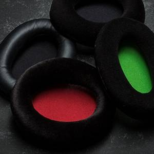 interchangeable ear pads select the one that you like most