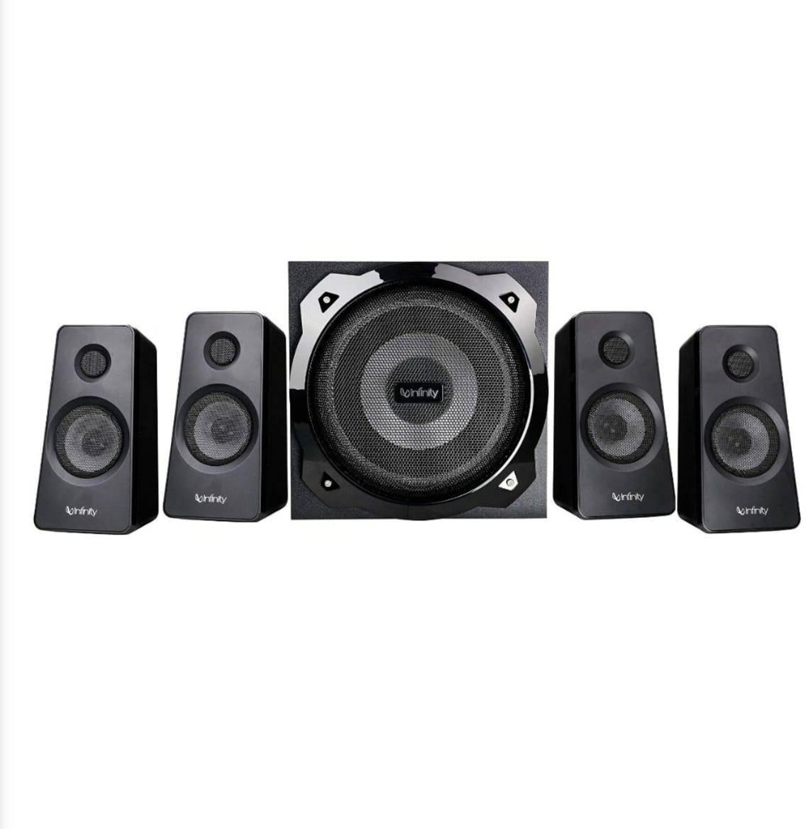 Infinity (JBL) Octabass 410 Deep Bass 4.1 Channel Multimedia Speakers (INFOCB410) zoom image