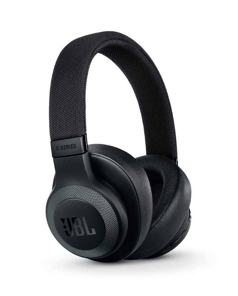 JBL E65BTNC Wireless Over-Ear Active Noise Cancelling Headphones  zoom image