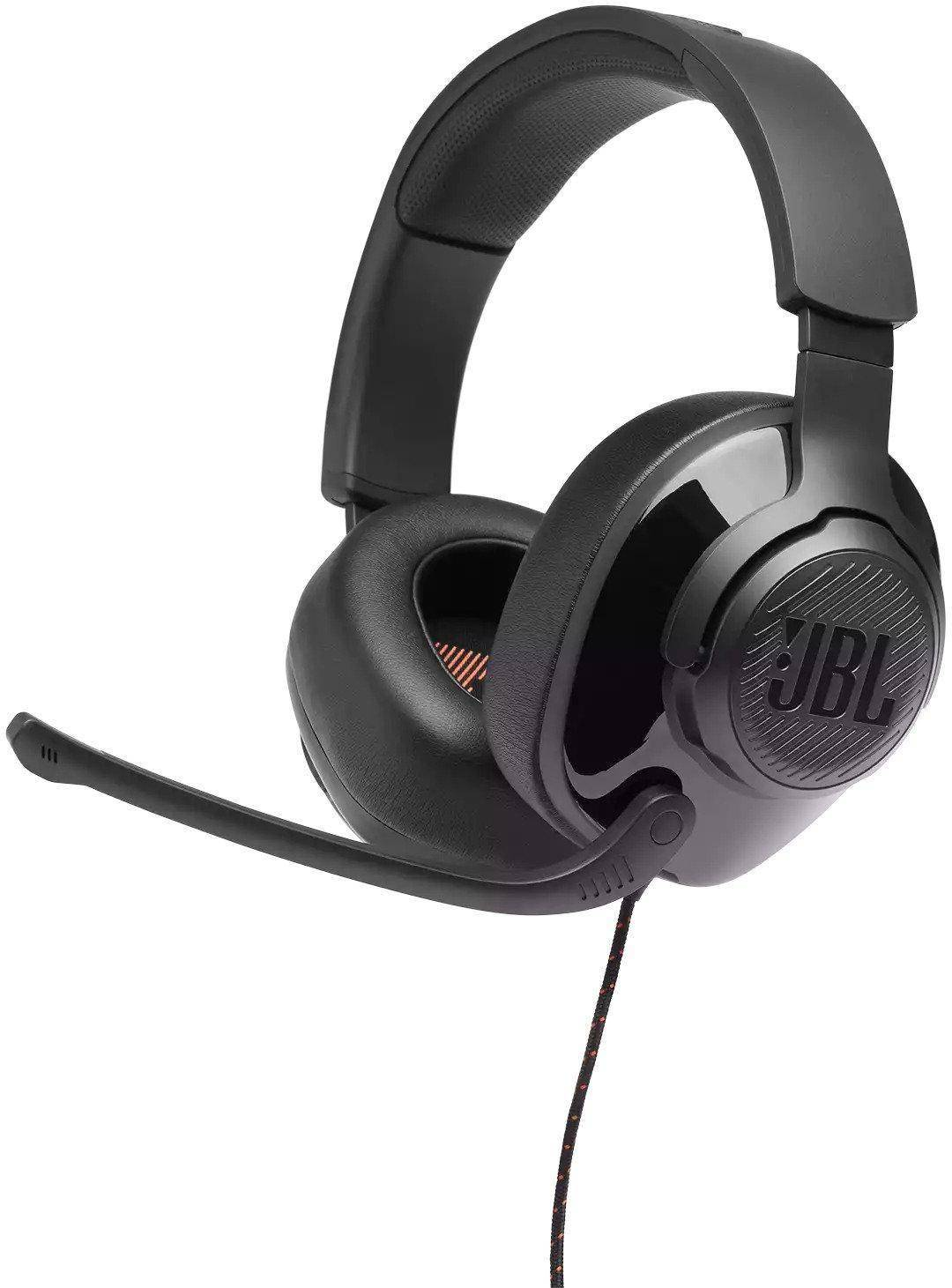 JBL Quantum 300 Wired Gaming Headset Over-Ear With Mic zoom image