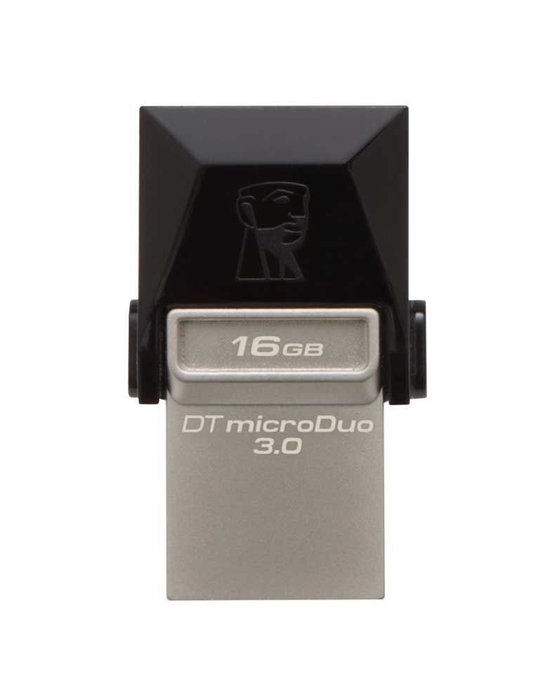 Kingston DT MicroDuo 16GB USB3.0 OTG Pen Drive zoom image