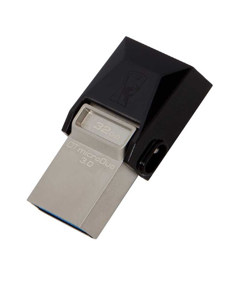 Kingston DT MicroDuo 32GB USB 3.0 OTG Pen Drive zoom image