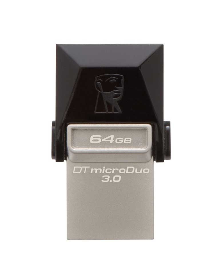 Kingston DT MicroDuo 64GB USB 3.0 OTG Pen Drive zoom image
