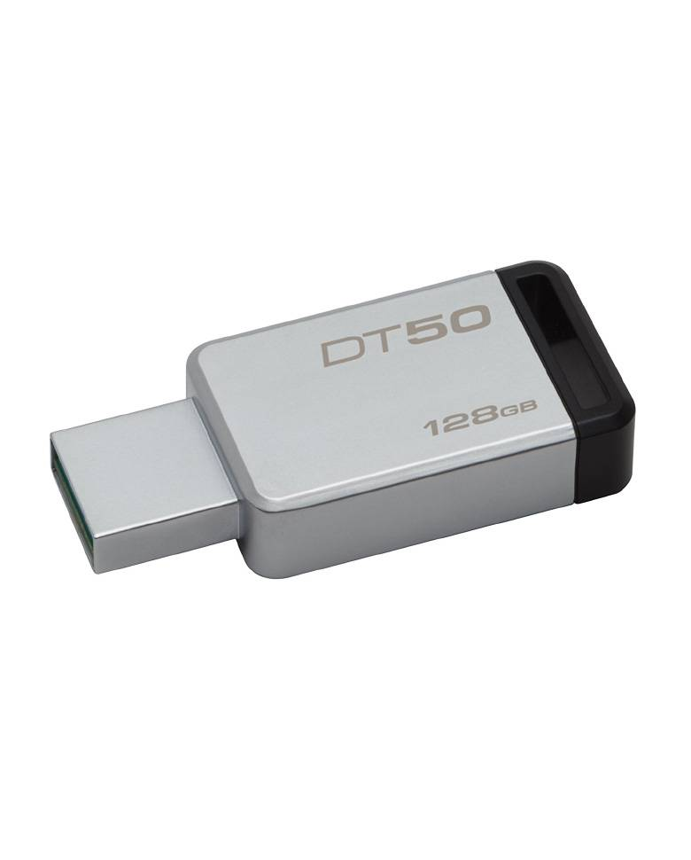 Kingston DT50 128GB USB 3.1 DataTraveler Pendrive zoom image