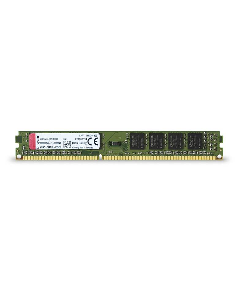 Kingston ValueRAM KVR16LN11/4 4GB Non-ECC CL11 DIMM Memory zoom image
