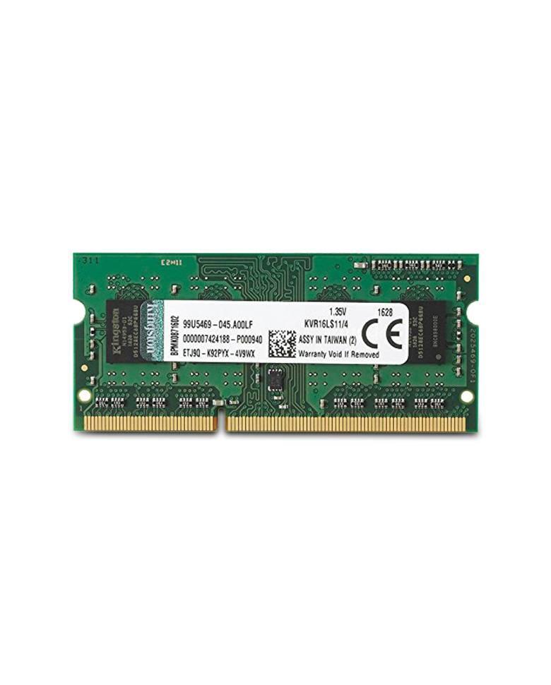 Kingston ValueRAM 4GB 1600MHz DDR3 Laptop Memory(KVR16LS11/4) zoom image
