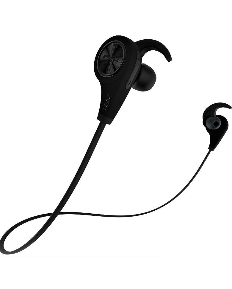f80b132cd4e Leaf Ear Wireless Bluetooth Earphones with Mic and Deep Bass zoom image