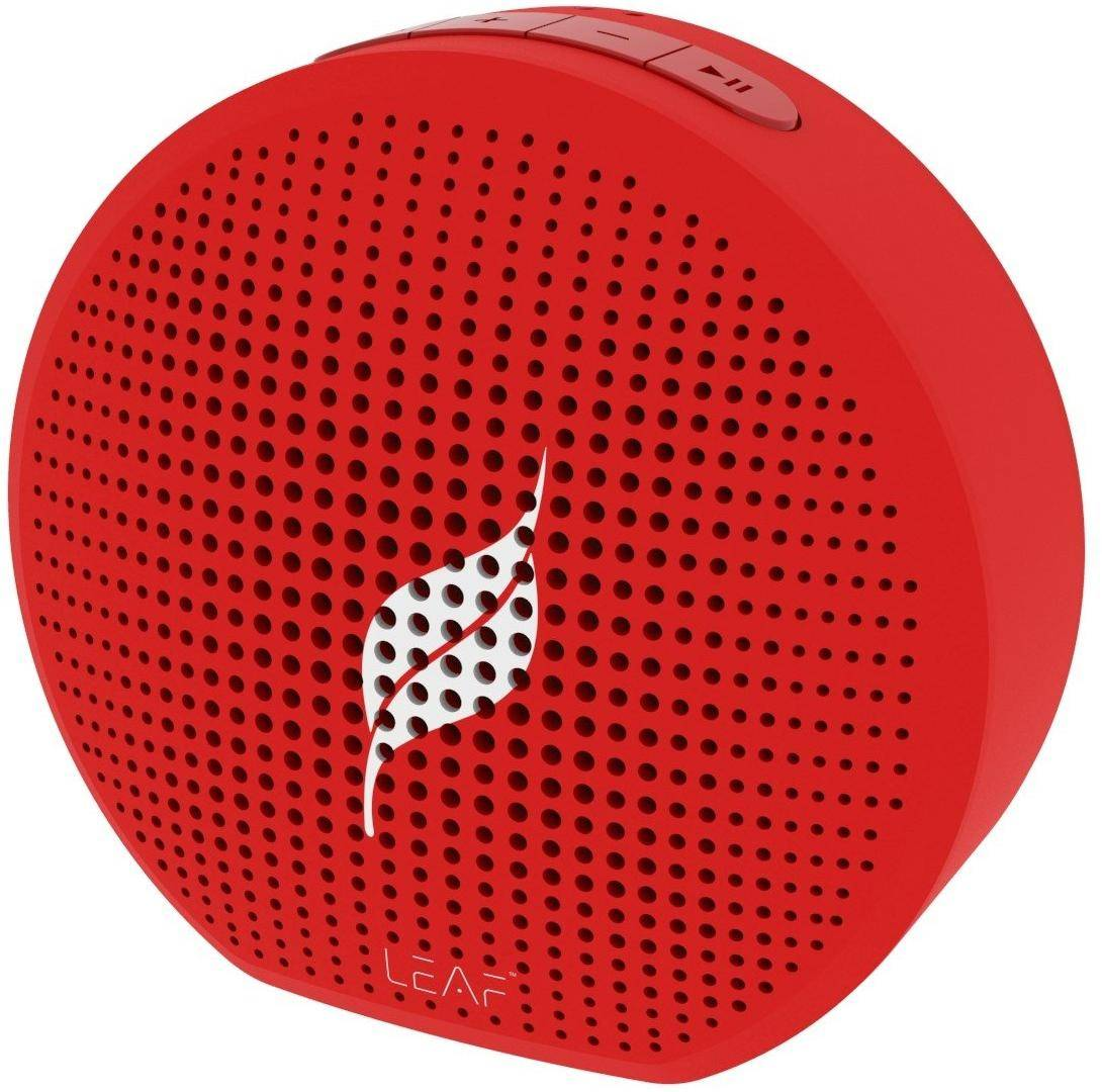 Leaf Pop Portable Wireless Bluetooth Speaker with Mic zoom image