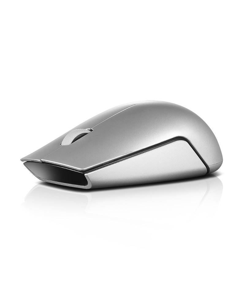 Lenovo 500 Wireless Mouse Online (Black/Silver) zoom image