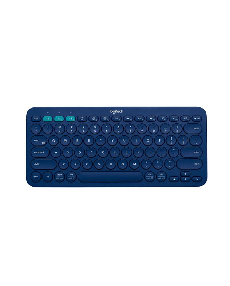Logitech K380 Multi-Device Bluetooth Keyboard (Black) zoom image
