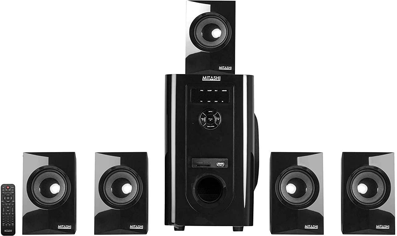 Mitashi 5.1 Channel Bluetooth Home Theatre System zoom image