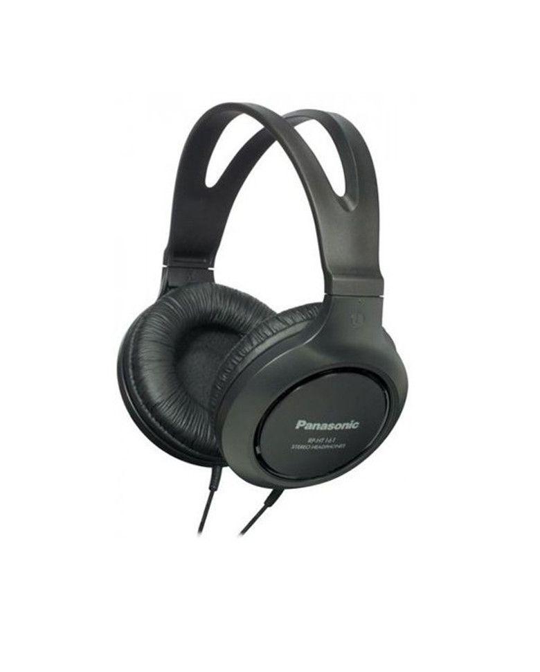 Panasonic RP-HT161 E-K Over-Ear Wired headphone zoom image