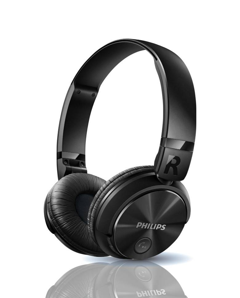 Philips SHB3060 Wireless Bluetooth Headphones With Mic zoom image