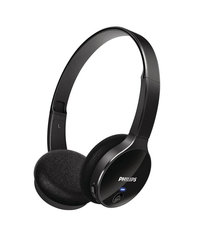 Philips SHB4000 On the Ear Bluetooth Headphone With Mic zoom image