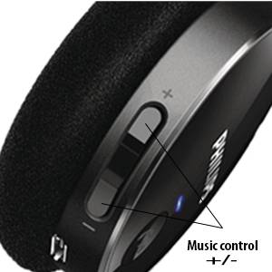 Calls and music can be controlled easily