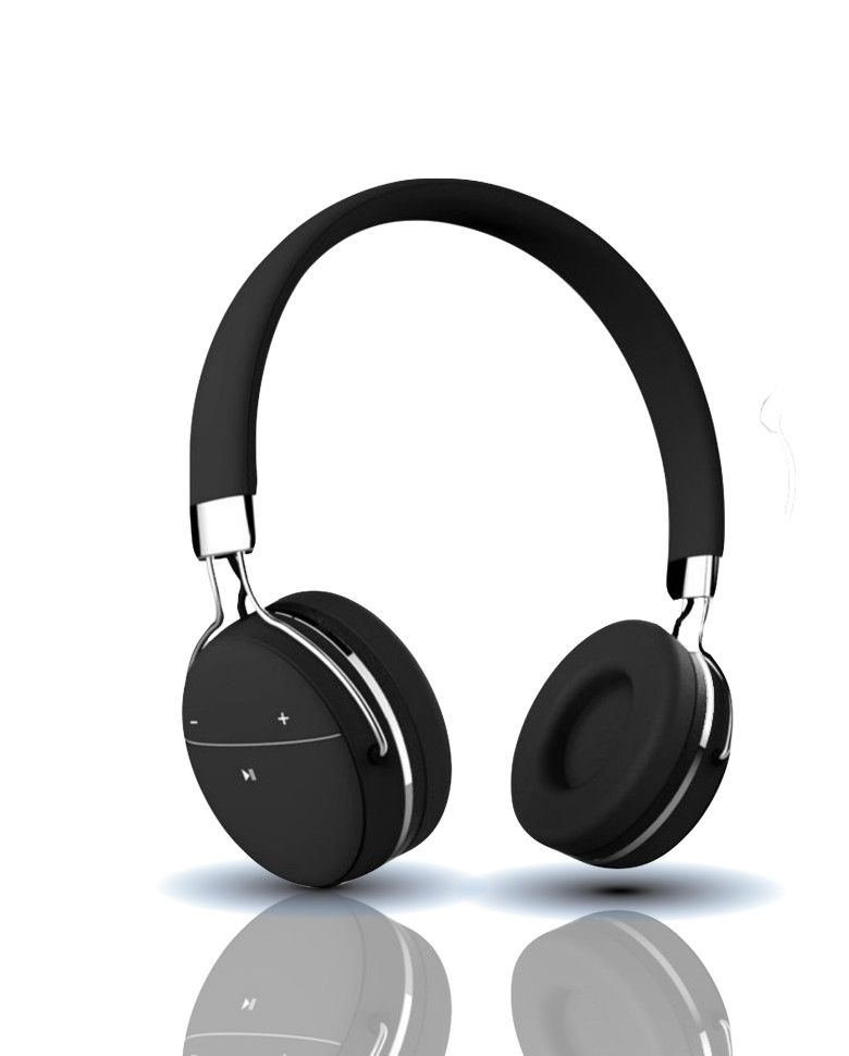 Portronics POR 645 Muffs Pro Bluetooth Headphone With Aux Port and In-built Mic zoom image