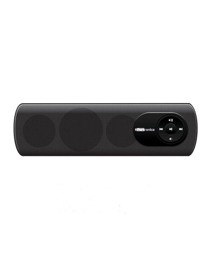Portronics Pure Sound POR 102 Portable Speaker System (Black) zoom image