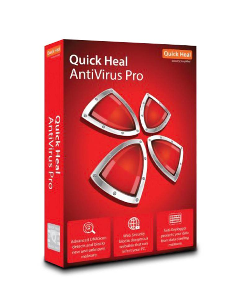 Quick Heal Antivirus Pro for With 1 Year Validity zoom image