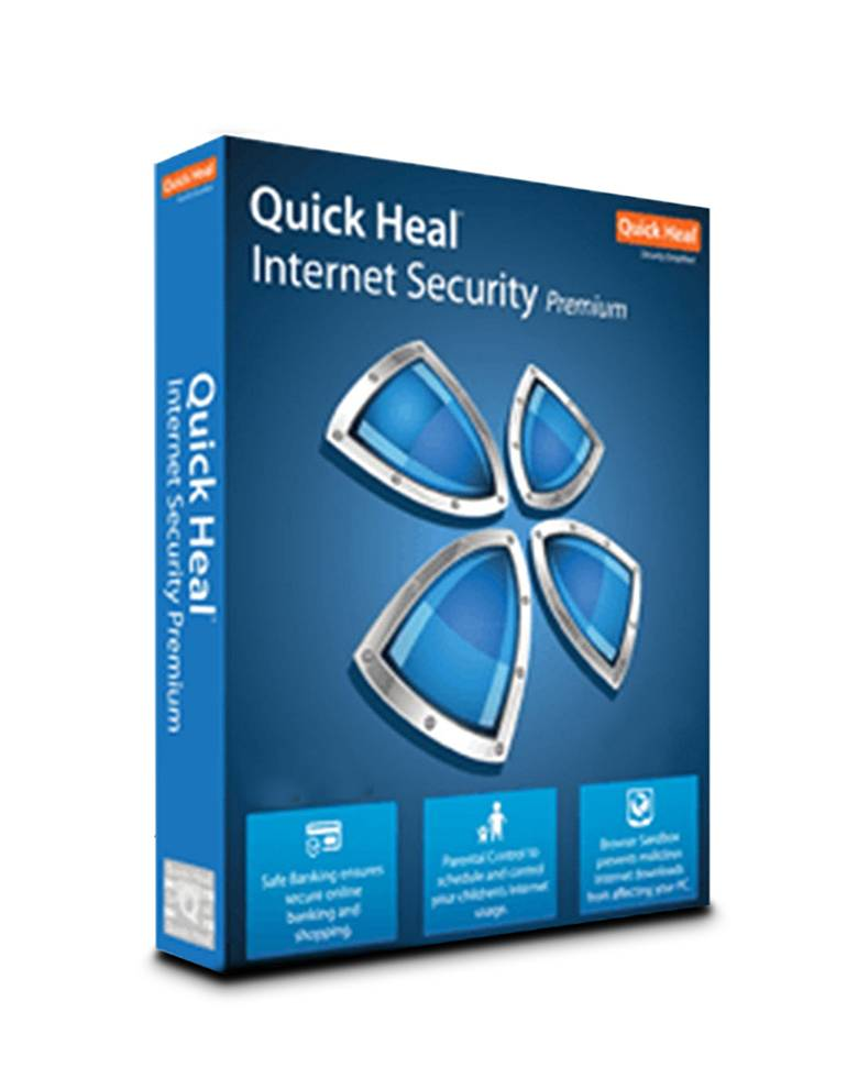 Quick Heal Internet Security Premium For  2 PCs with One Year Validity zoom image