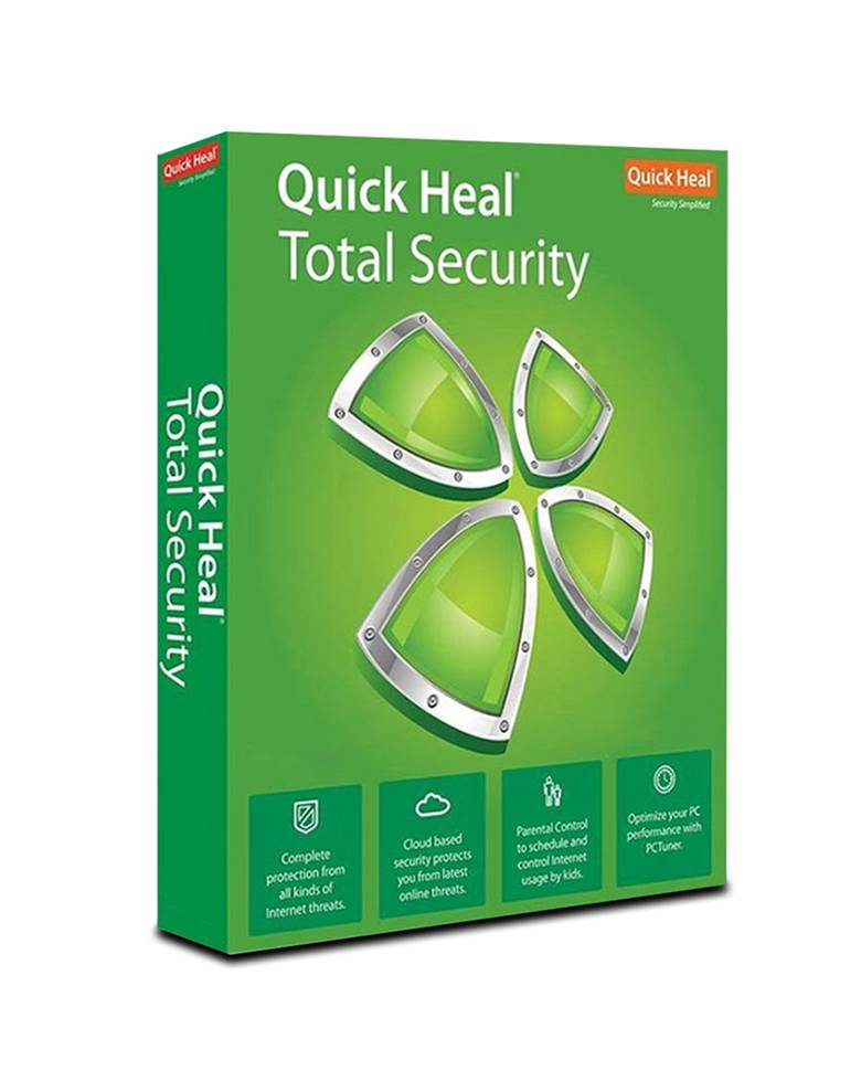 Quick Heal Total Security For Two PC With 1 Year Validity zoom image