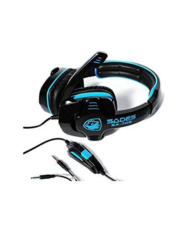 SADES SA-708 Stereo Gaming Headset with mic zoom image