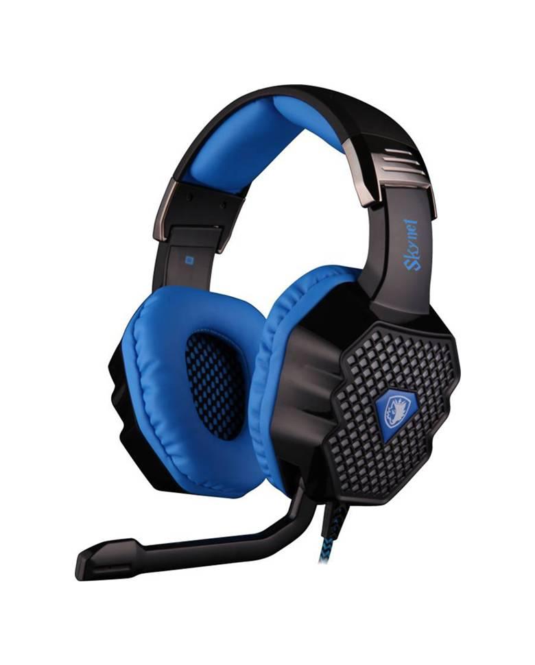 Sades SA 909 Skynet 7.1 Surround Sound Gaming Headphones with Mic zoom image