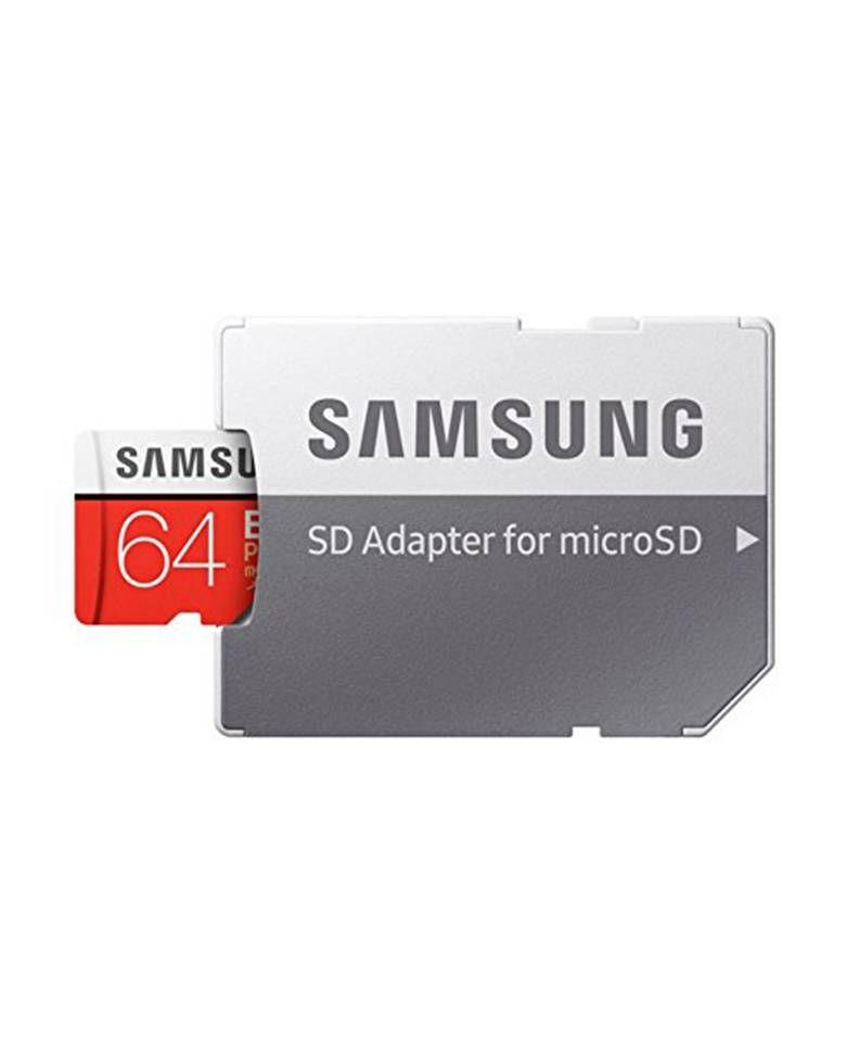 Samsung EVO Plus 64GB MB-MC64GA-IN MicroSD Card 100 MB/s with Adapter zoom image