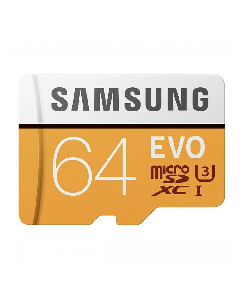 Samsung Evo 64GB MicroSD Card MB-MP64GA/IN 100 MB/s with Adapter  zoom image