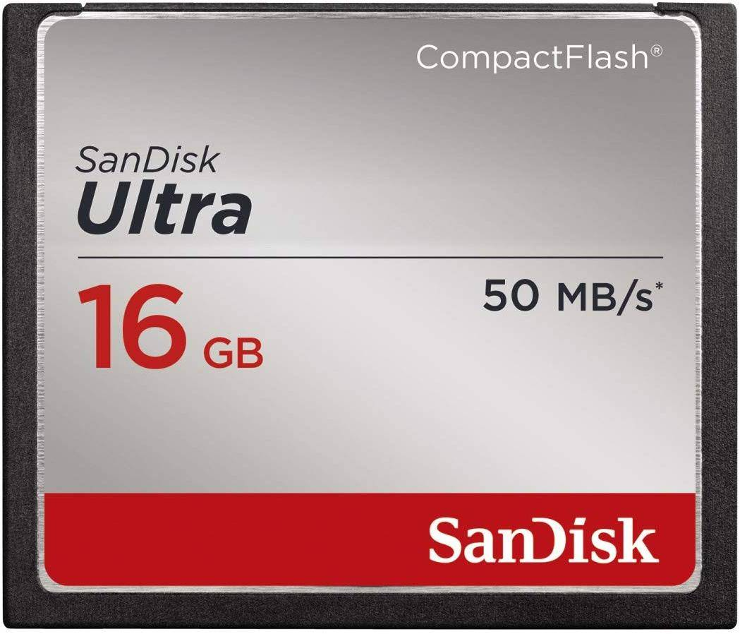 SanDisk Ultra 16GB Compact Flash Memory Card  zoom image