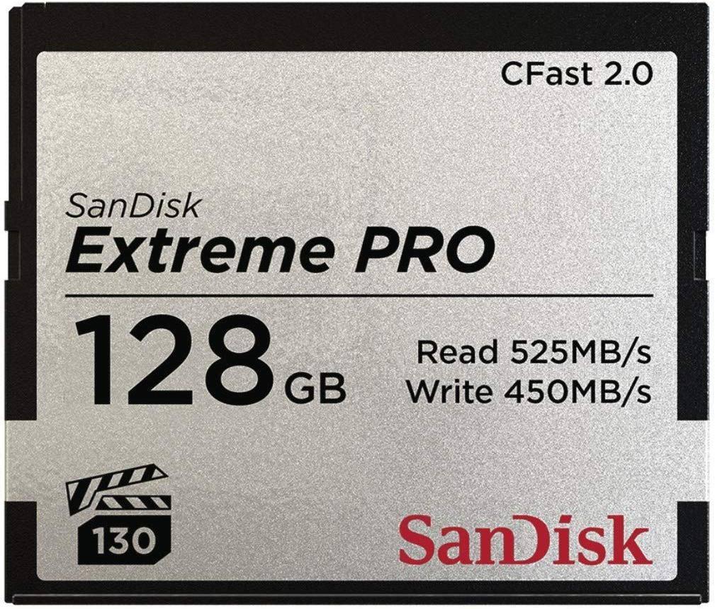 SanDisk Extreme Pro CFast 2.0 128GB Memory Card  zoom image