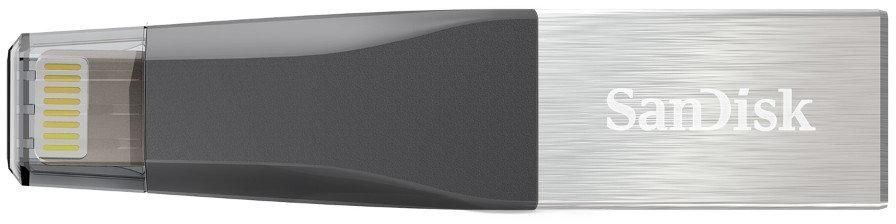 SanDisk 128GB iXpand Mini USB 3.0 Flash Drive for iPhone and Computer (SDIX40N-128G-GN6NE) zoom image
