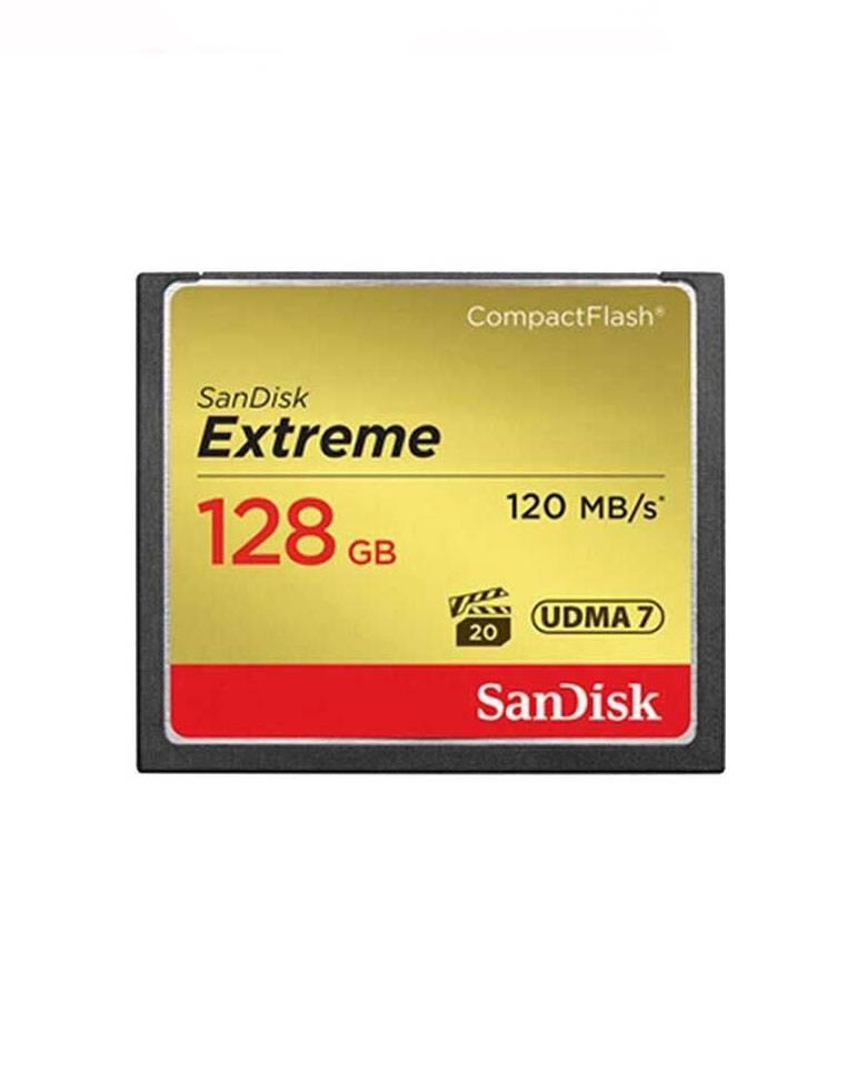 SanDisk Extreme 128GB CompactFlash Memory Card zoom image