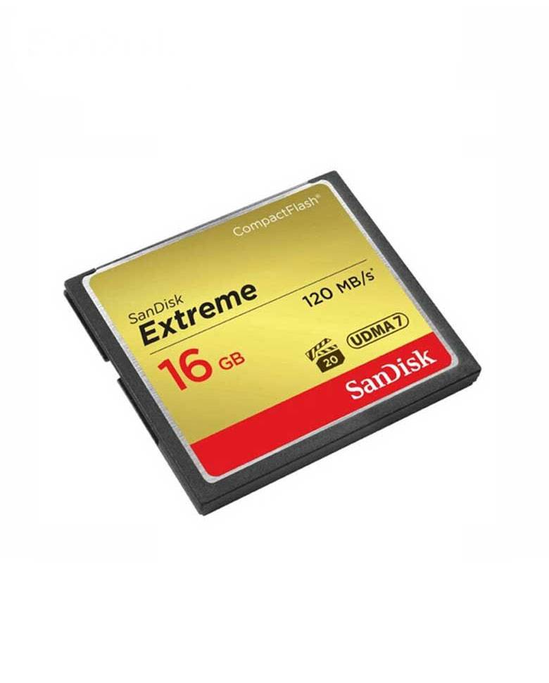 SanDisk Extreme 16GB CompactFlash Memory Card zoom image